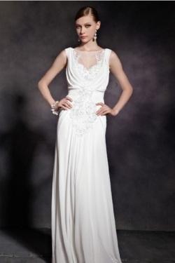 Robe de soirée PR100 blanc