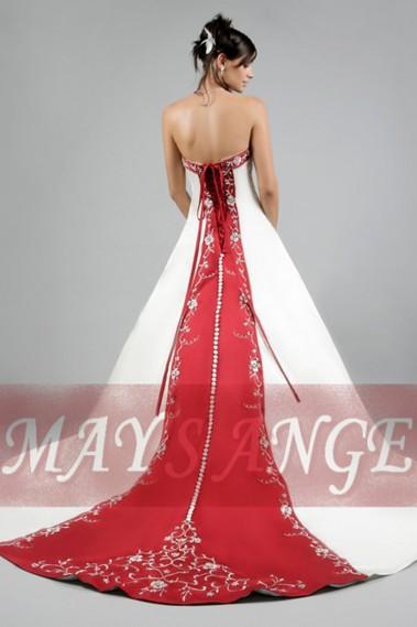 Robe de mariée charme et classe - M006 #2